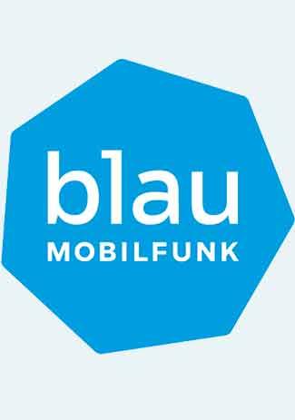 blau Mobilfunk - 15 Euro Guthabencode