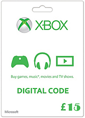 Official Xbox Live Guthaben - 15 GBP (Xbox One/Xbox 360/Windows)