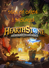 Hearthstone - Deck of Cards DLC - 1 Package (PC/Mac)
