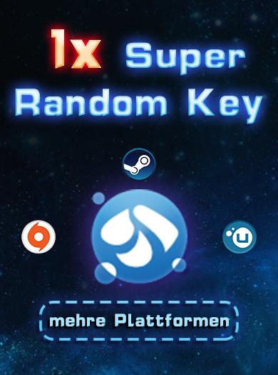 Official 1 Super Random Key (Steam, Origin, Uplay usw.)