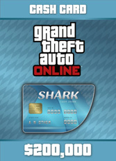 Official GTA 5 Online: Tiger Shark Cash Card $200.000 (PC)