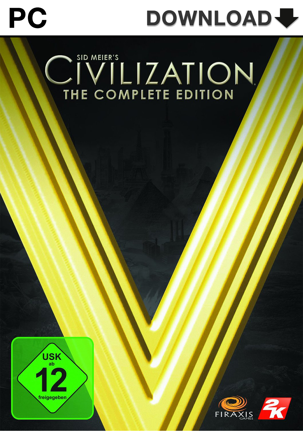 Official Sid Meier's Civilization V: Complete Edition (PC)