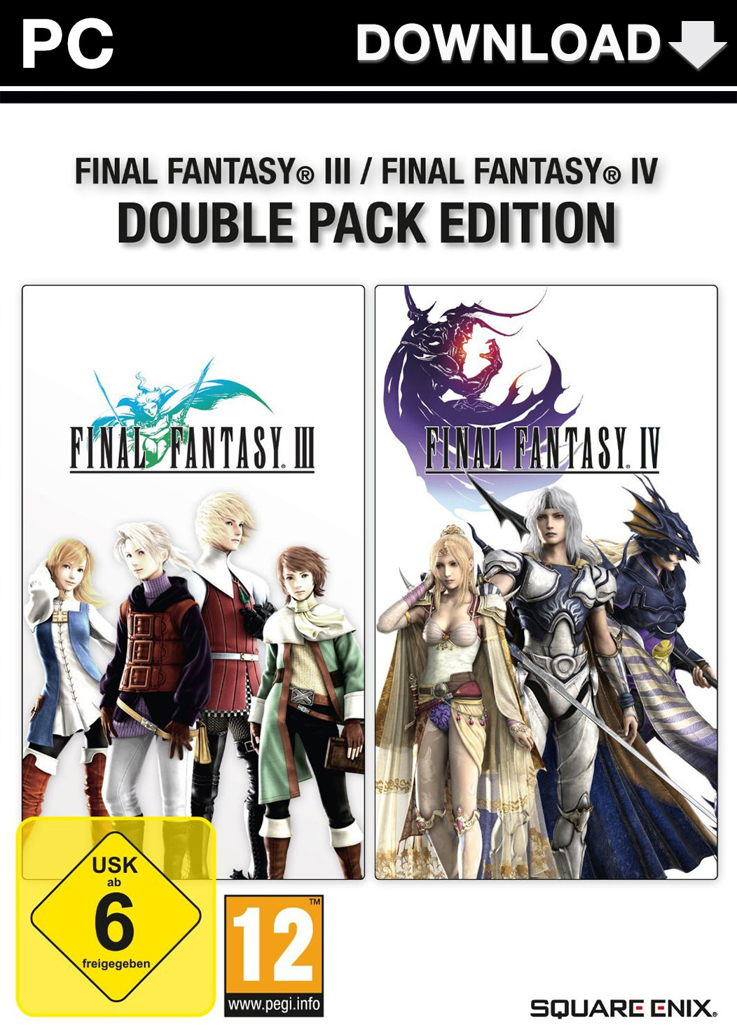 Official Final Fantasy III / Final Fantasy IV - Double Pack (PC)