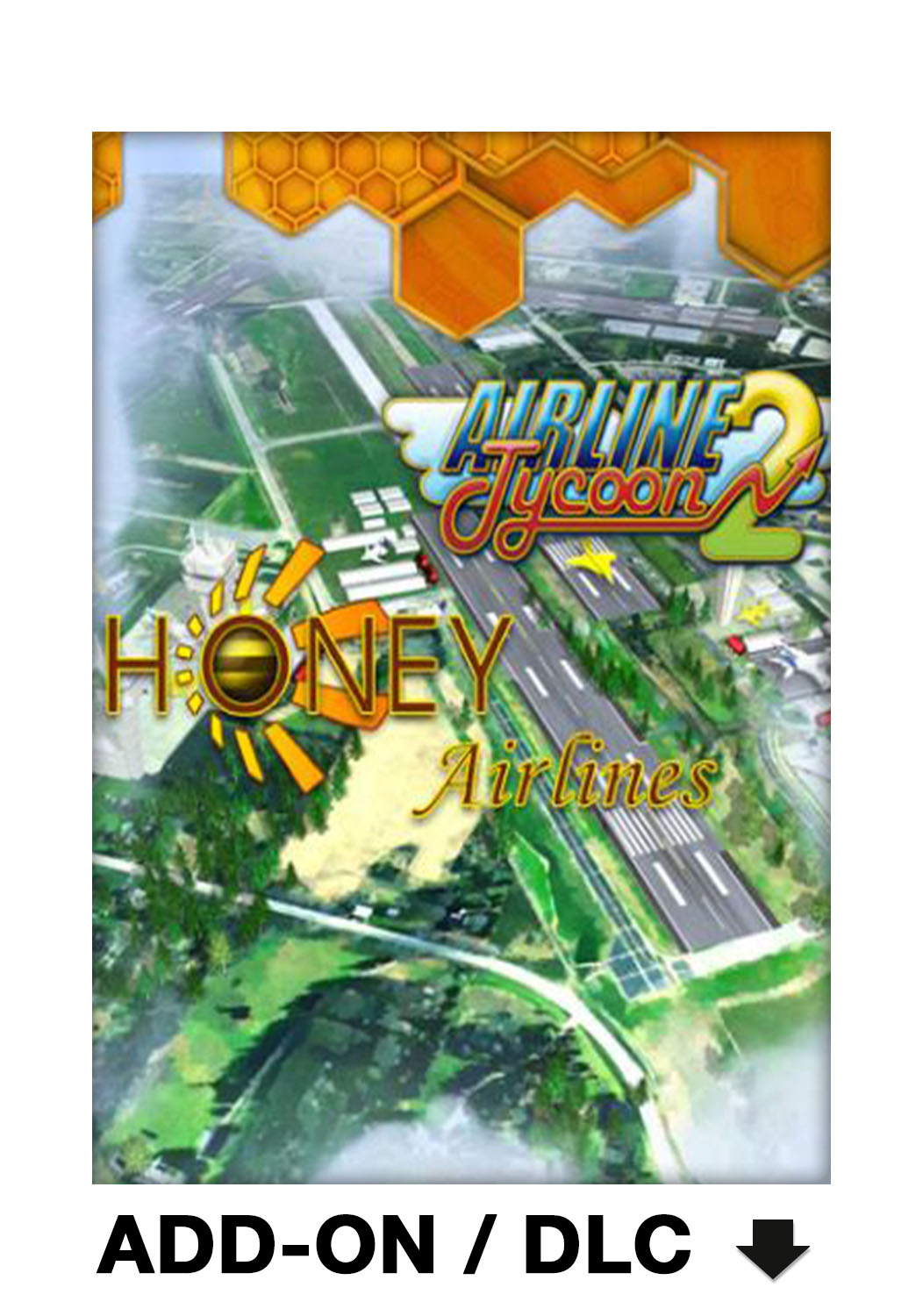 Official Airline Tycoon 2: Honey Airlines DLC (PC)