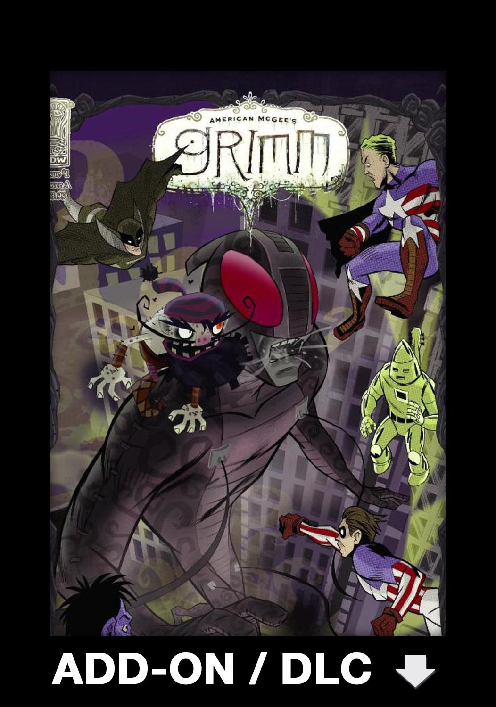 Official Grimm DLC 14 - Iron John (PC)