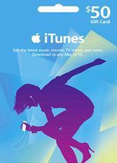 Official Apple iTunes $50 Gutschein-Code US iPhone Store
