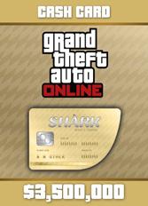 Official GTA 5 Online: Whale Shark Cash Card $3.500.000 (PC)