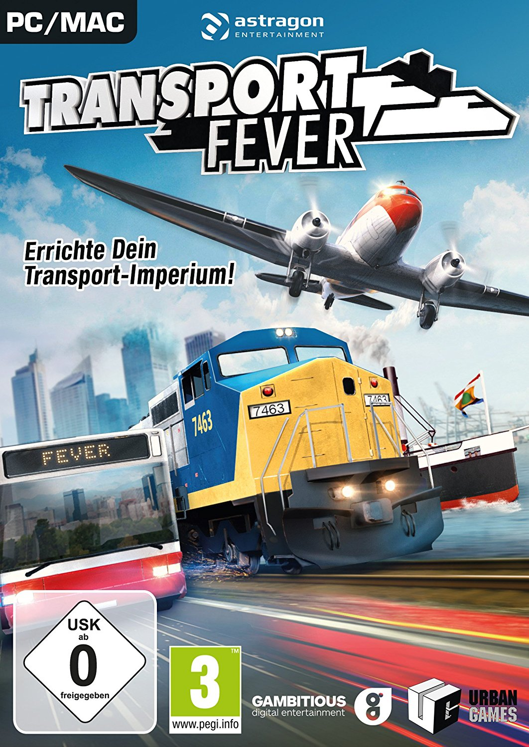 Official Transport Fever (PC)