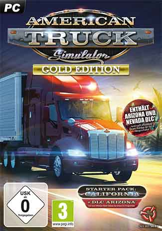 Official American Truck Simulator - Gold Edition (PC)