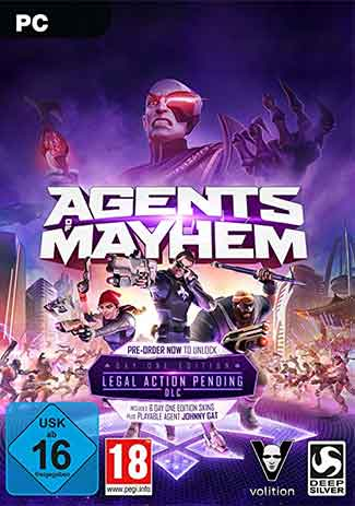 Official Agents of Mayhem - Day One Edition (PC)