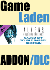 Official Aliens: Colonial Marines Sawed-off Double Barrel Shotgun (PC)
