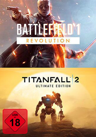 Official Battlefield 1 Revolution und Titanfall 2 Ultimate Edition Bundle (PC)