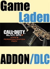 Official Call of Duty - Black Ops II - Viper Personalization Pack (PC)