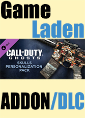 Official Call of Duty: Ghosts - Skulls Personalization Pack (PC)