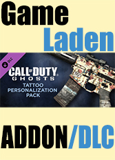 Official Call of Duty: Ghosts - Tattoo Personalization Pack (PC)