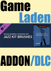 Official Chocolate Cake Drums: Jazz Kit Brushes - For Session Drummer 3 (PC)