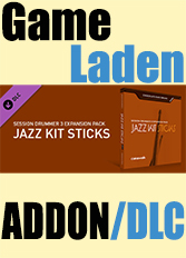 Official Chocolate Cake Drums: Jazz Kit Sticks - For Session Drummer 3 (PC)