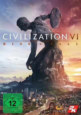 Official Sid Meiers Civilization VI: Rise and Fall DLC (PC)