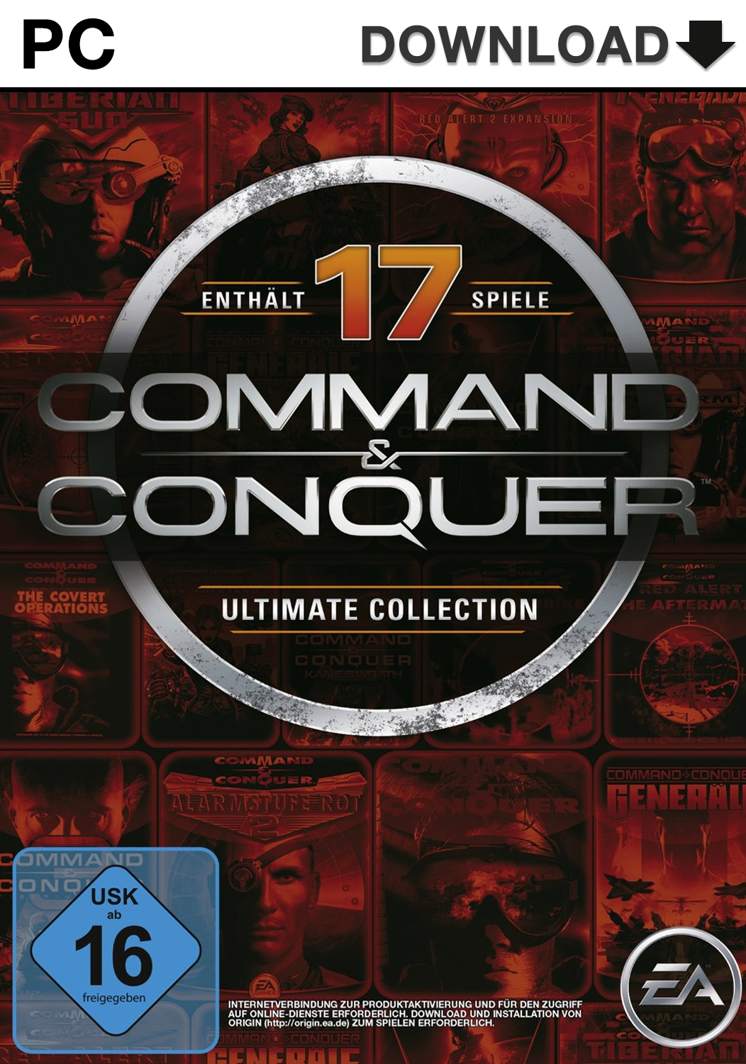 Official Command & Conquer - The Ultimate Collection (PC)