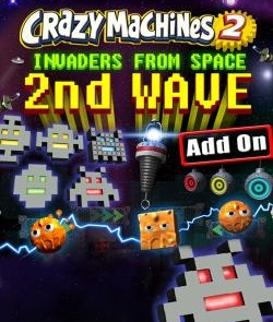 Crazy Machines 2: Invaders From Space, 2nd Wave DLC (PC)