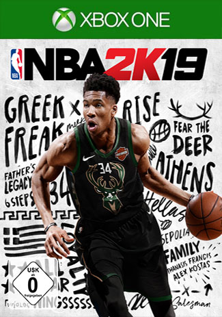 Official NBA 2K19 (Xbox One Download Code)