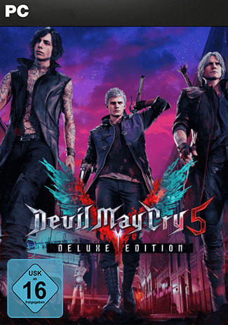 Official Devil May Cry 5 Deluxe Edition (PC/EU)