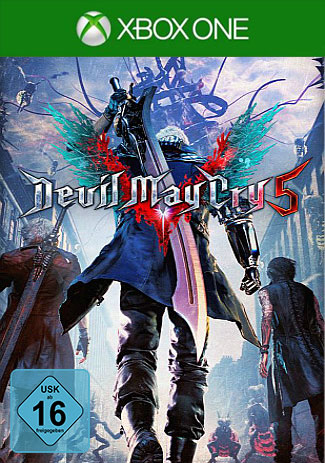 Official Devil May Cry 5 (Xbox One Download Code)