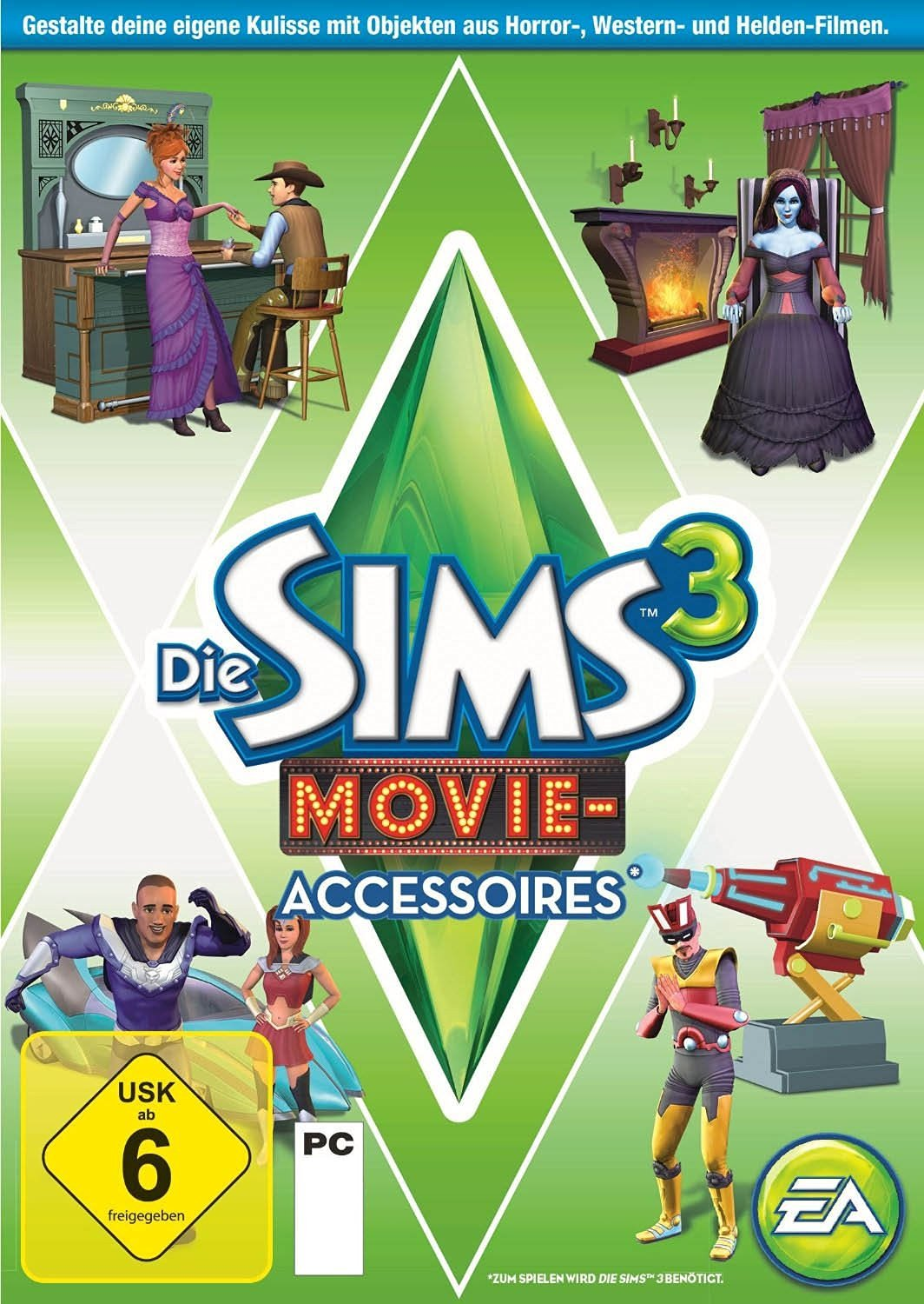 Official Die Sims 3: Movie-Accessoires (Add-On) (PC)