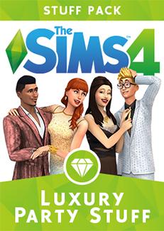 Official Die Sims 4 Luxus-Party-Accessoires (PC) (Guthaben Code - nur DE)