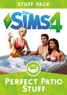 Official Die Sims 4 Sonnenterrassen-Accessoires (PC) (Guthaben Code - nur DE)