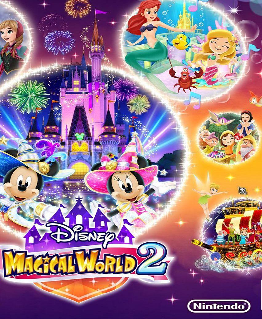 Official Disney Magical World 2 - Nintendo eShop Code (3DS/EU/Digital Download Code)