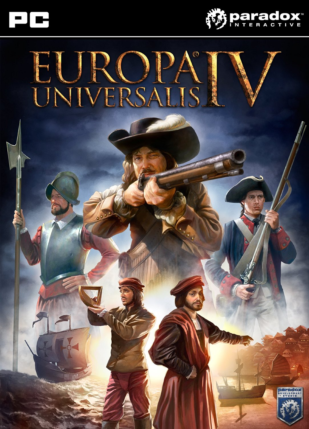 Official Europa Universalis IV - Digital Extreme Edition (PC)
