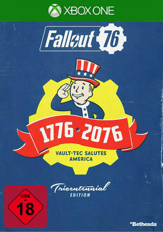 Official Fallout 76 Tricentennial Edition (Xbox One Download Code)