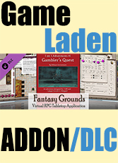 Official Fantasy Grounds - 3.5E/PFRPG: Gambler's Quest - 1 on 1 (PC)