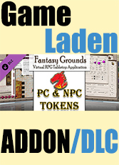 Official Fantasy Grounds - Gaming Tokens & Portraits Pack #3: PC's & NPCs (PC)
