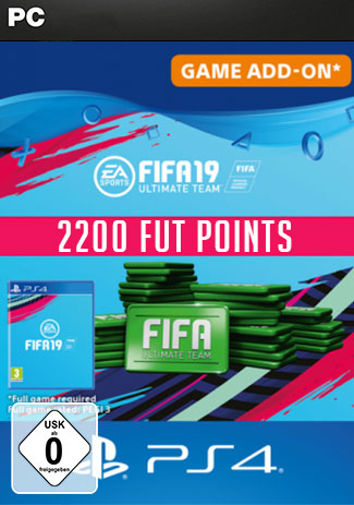 Official FIFA 19 Ultimate Team - 2200 FIFA Points (PS4 Code/DE)