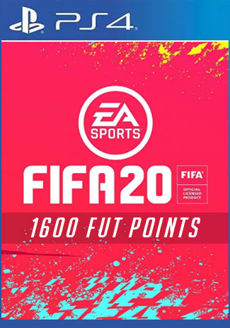 Official FIFA 20 Ultimate Team 1600 Points (PS4 Code/DE)