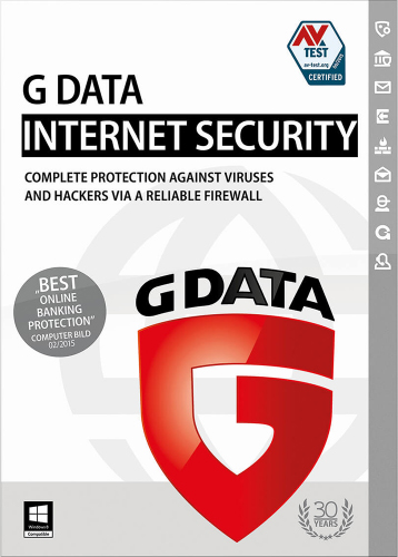Official G Data Internet Security (1 User / 1 Jahr) (PC)