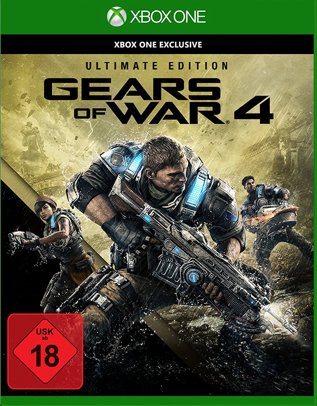 Official Gears of War 4 - Ultimate Edition (Xbox One Download Code/Windows 10 Global)