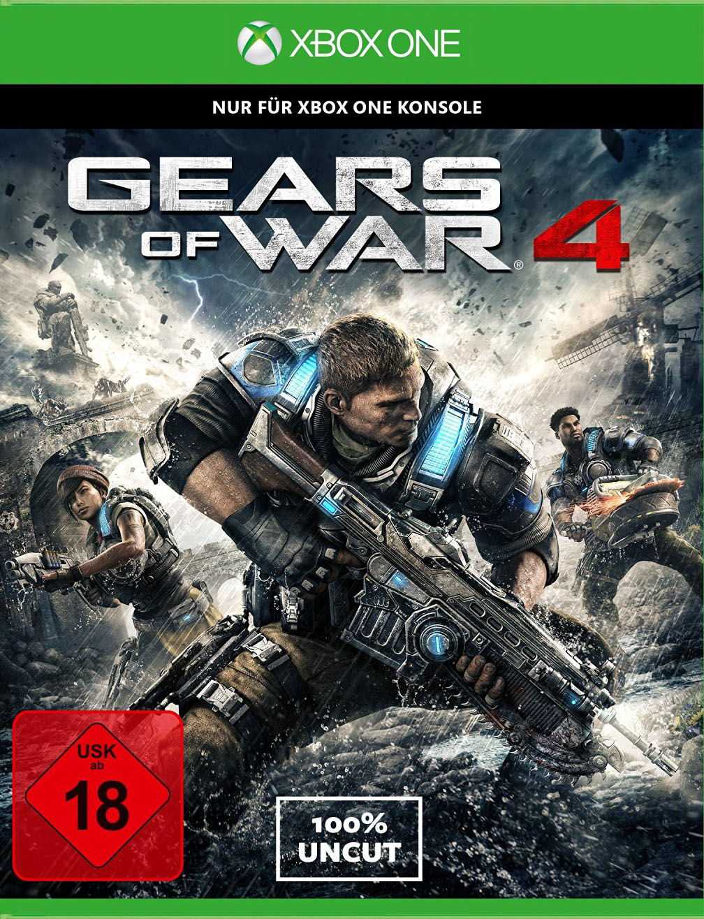 Official Gears of War 4 (Xbox One Download Code)