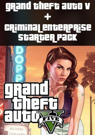 Official Grand Theft Auto V and Criminal Enterprise Starter Pack Bundle (PC)