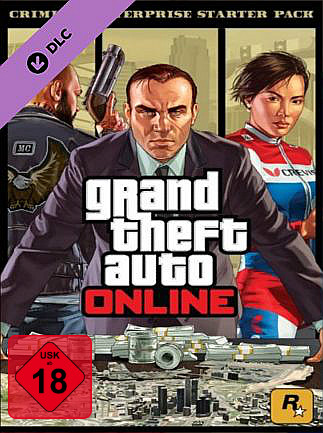 Official Grand Theft Auto V - Criminal Enterprise Starter Pack (Steam Gift)