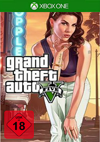 Official Grand Theft Auto V (Xbox One Download Code)