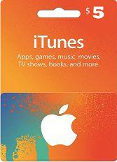 Official Apple iTunes $ 5 Gutschein-Code US iPhone Store