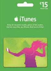 Official Apple iTunes 15 Euro Guthaben Prepaid Card - DE