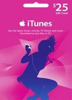 Official Apple iTunes $25 Gutschein-Code US iPhone Store
