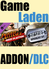 Official Jagged Alliance - Back in Action Desert Specialist Kit (PC)
