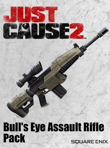 Official JC2 DLC - Bull's Eye Assault Rifle (PC)
