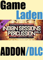 Official Loopmasters - Indian Sessions Percussion Vol. 3 (PC)