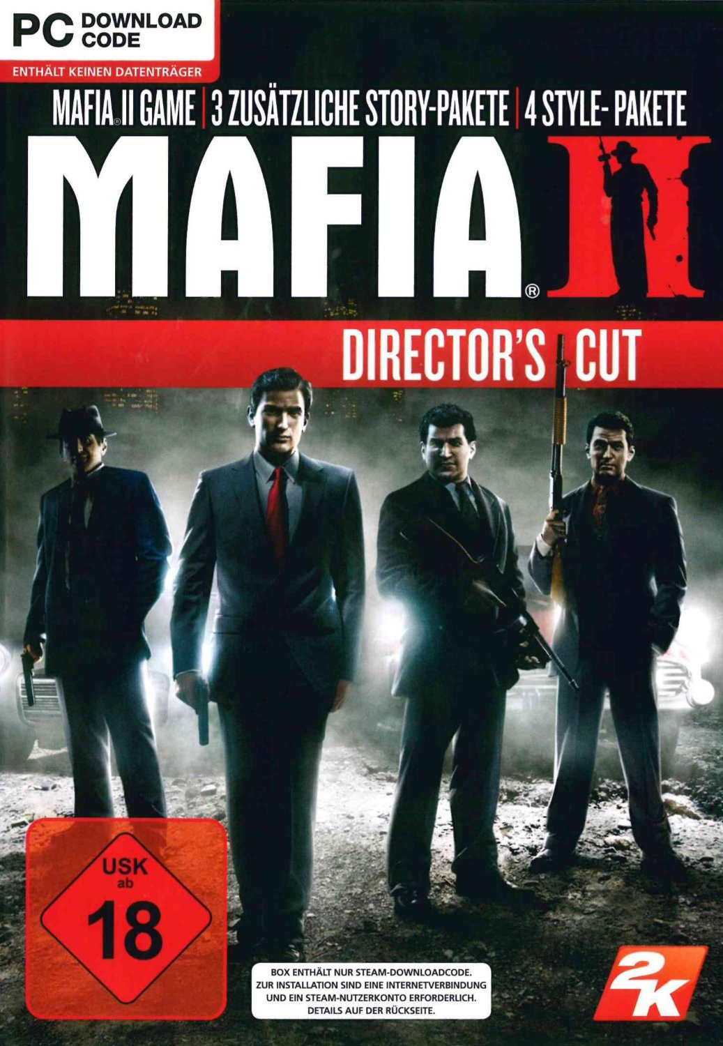 Official Mafia II / Mafia 2: Director's Cut (PC)